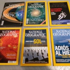 Coleccionismo de National Geographic: 6 REVISTAS NATIONAL GEOGRAPHIC. Lote 182425072