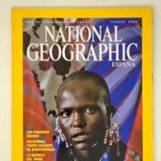 Coleccionismo de National Geographic: REVISTA NATIONAL GEOGRAPHIC VOLUMEN 18 Nº2 FEBRERO 2006. Lote 182500116