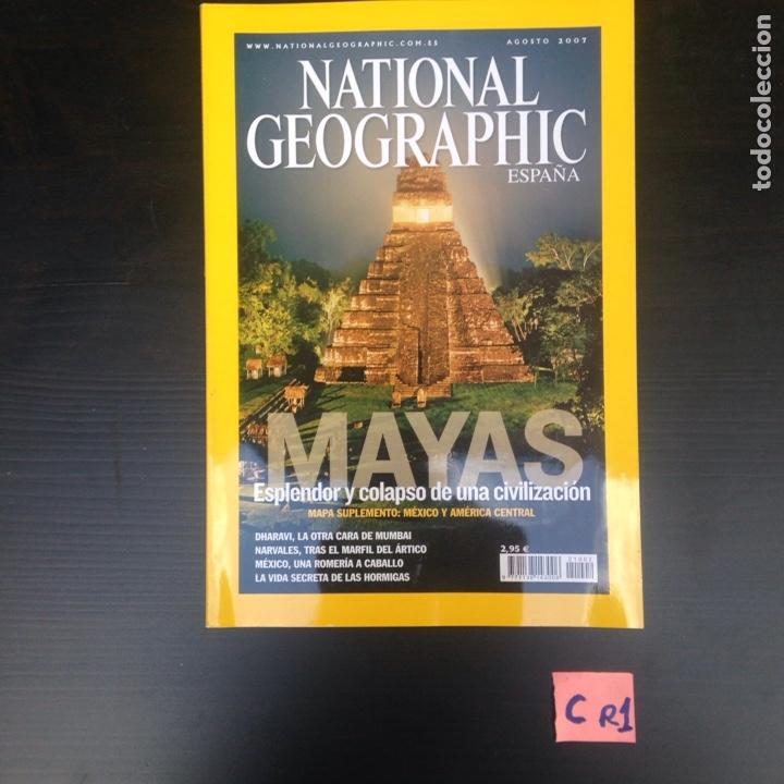 REVISTA NATIONAL GEOGRAPHIC (Coleccionismo - Revistas y Periódicos Modernos (a partir de 1.940) - Revista National Geographic)
