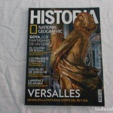 Collezionismo di National Geographic: HISTORIA NATIONAL GEOGRAPHIC Nº 162: OSIRIS, EL COLOSO DE RODAS, VERSALLES, LAWRENCE DE ARABIA. Lote 182540110