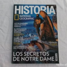 Coleccionismo de National Geographic: HISTORIA NATIONAL GEOGRAPHIC Nº 174: NOTRE DAME, COLONIAS GRIEGAS, CONQUISTA DEL POLO NORTE. Lote 268855219