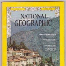 Coleccionismo de National Geographic: NATIONAL GEOGRAPHIC - INGLÉS - JULIO 1968 - BUEN ESTADO. Lote 182787741
