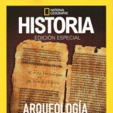 Coleccionismo de National Geographic: ARQUEOLOGÍA DE LA BIBLIA: ANTIGUO TESTAMENTO - EDICIÓN ESPECIAL - HISTORIA NATIONAL GEOGRAPHIC. Lote 183735041