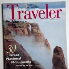 Coleccionismo de National Geographic: REVISTA NATIONAL GEOGRAPHIC TRAVELER - MARZO/ABRIL 1995 - RÍO GRANDE, QUEBEC, SOUTH CAROLINA, KRAKÓW. Lote 184247473
