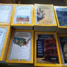 Coleccionismo de National Geographic: THE NATIONAL GEOGRAPHIC MAGAZINE -- EDICION USA -- LOTE DE 70 EJEMPLARES -- AÑOS 50 / 60 / 70 --. Lote 184558616