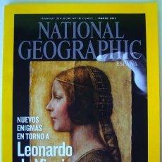 Coleccionismo de National Geographic: REVISTA NATIONAL GEOGRAPHIC MARZO 3 / 2012 LEONARDO DA VINCI RINOCERONTES. Lote 184798646
