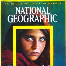 Coleccionismo de National Geographic: NATIONAL GEOGRAPHIC ROSTROS DEL MUNDO 2006 EDITORIAL RBA 36 X 26 CM FOTOGRAFÍA SHARBAT GULA. Lote 184802116