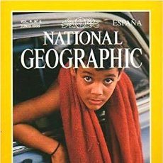Coleccionismo de National Geographic: REVISTA NATIONAL GEOGRAPHIC MAGAZINE ESPAÑA 4, 6. CUBA. Lote 185730178