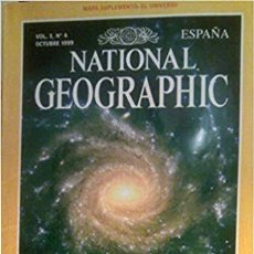 Coleccionismo de National Geographic: REVISTA NATIONAL GEOGRAPHIC. VOL 3, NÚMERO 4, 1999. DESVELANDO EL UNIVERSO. Lote 185731163