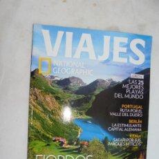 Coleccionismo de National Geographic: VIAJES NATIONAL GEOGRAPHIC REVISTA Nº 160 - FIORDOS NORUEGOS, KENIA, LAS MEJORES PLAYAS DEL MUNDO.... Lote 186025715