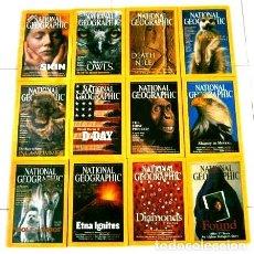 Coleccionismo de National Geographic: 12 REVISTAS NATIONAL GEOGRAPHIC (AÑO 2002 COMPLETO) EDICIÓN ORIGINAL NORTEAMERICANA EN INGLÉS. Lote 186183808