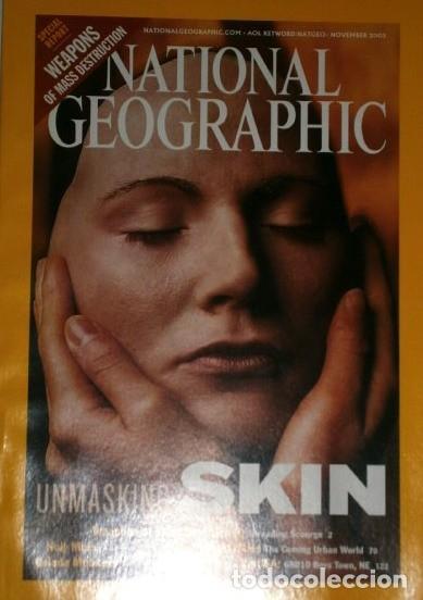 Coleccionismo de National Geographic: 12 Revistas National Geographic (Año 2002 completo) Edición original norteamericana en inglés - Foto 2 - 186183808