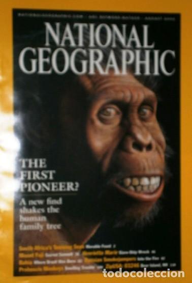 Coleccionismo de National Geographic: 12 Revistas National Geographic (Año 2002 completo) Edición original norteamericana en inglés - Foto 3 - 186183808
