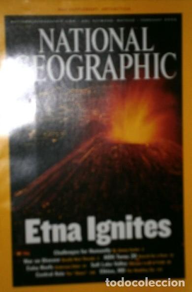 Coleccionismo de National Geographic: 12 Revistas National Geographic (Año 2002 completo) Edición original norteamericana en inglés - Foto 4 - 186183808