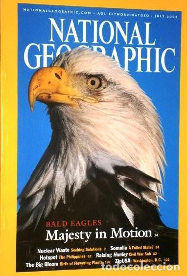 Coleccionismo de National Geographic: 12 Revistas National Geographic (Año 2002 completo) Edición original norteamericana en inglés - Foto 5 - 186183808