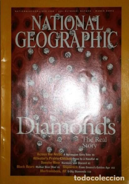 Coleccionismo de National Geographic: 12 Revistas National Geographic (Año 2002 completo) Edición original norteamericana en inglés - Foto 6 - 186183808
