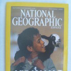 Coleccionismo de National Geographic: REVISTA NATIONAL GEOGRAPHIC, 2001: ABRAHAM PADRE DE TRES CREDOS, SUPERCROC, ETC. Lote 186221116