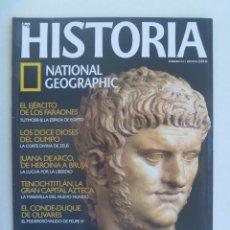 Coleccionismo de National Geographic: REVISTA DE HISTORIA DE NATIONAL GEOGRAPHIC. Nº 54: EJERCITO FARAONES, JUANA ARCO, TENOCHTITLAN, ETC. Lote 186223755