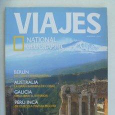 Coleccionismo de National Geographic: REVISTA VIAJES DE NATIONAL GEOGRAPHIC. Nº 68: SICILIA, BERLIN, PERU INCA, GALICIA, AUSTRALIA, ETC. Lote 186284752