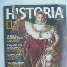 Coleccionismo de National Geographic: REVISTA DE HISTORIA DE NATIONAL GEOGRAPHIC. Nº 120: NAPOLEON, NUBIA, EVANGELIOS APOCRIFOS, ETC. Lote 186335420