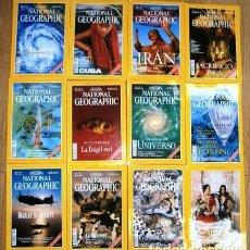 Coleccionismo de National Geographic: 12 REVISTAS NATIONAL GEOGRAPHIC (AÑO 1999 COMPLETO) EDICIÓN ESPAÑOLA EN IDIOMA CASTELLANO. Lote 187309900