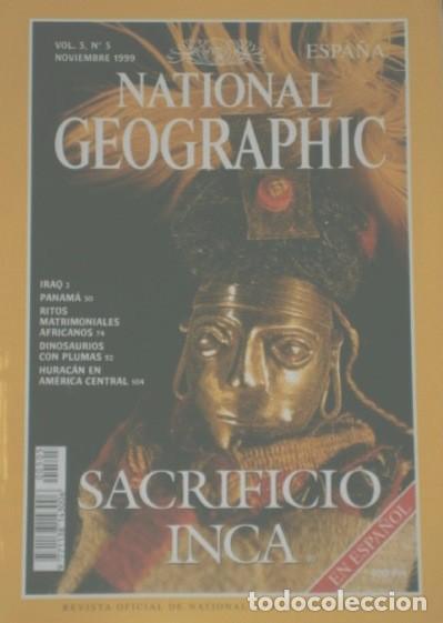 Coleccionismo de National Geographic: 12 Revistas National Geographic (Año 1999 completo) Edición española en idioma castellano - Foto 4 - 187309900