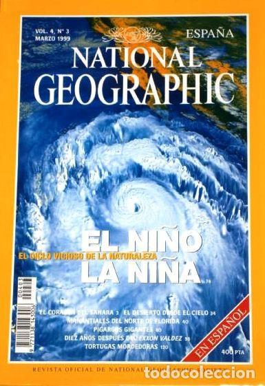 Coleccionismo de National Geographic: 12 Revistas National Geographic (Año 1999 completo) Edición española en idioma castellano - Foto 7 - 187309900