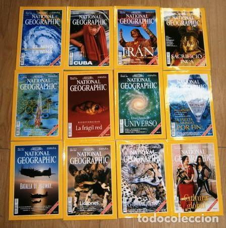 Coleccionismo de National Geographic: 12 Revistas National Geographic (Año 1999 completo) Edición española en idioma castellano - Foto 8 - 187309900