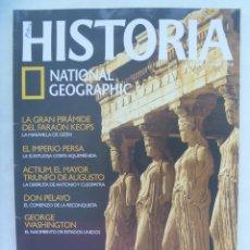 Coleccionismo de National Geographic: REVISTA DE HISTORIA DE NATIONAL GEOGRAPHIC. Nº 55: ATENAS DE PERICLES, DON PELAYO, G. WASHINGTON, E. Lote 188511461