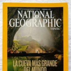 Coleccionismo de National Geographic: NATIONAL GEOGRAPHIC - FEBRERO 2011 - LA CUEVA MAS GRANDE DEL MUNDO. Lote 189430776
