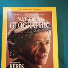 Coleccionismo de National Geographic: NATIONAL GEOGRAPHIC N°2 VOL. 182 AUGUST 1992. STRUGGLE OF THE KURDS. Lote 190708896