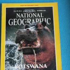 Coleccionismo de National Geographic: NATIONAL GEOGRAPHIC VOL. 178 Nº 6. DICIEMBRE 1990. BOTSWANA. Lote 191035247