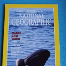 Coleccionismo de National Geographic: NATIONAL GEOGRAPHIC VOL. 183 Nº 5 MAYO 1993. MIDDLE EAST WATER. Lote 191037240
