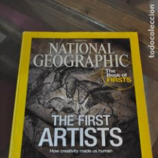 Coleccionismo de National Geographic: NATIONAL GEOGRAPHIC JANUARY 2015. THE FIRST ARTISTS, HOW CREATIVITY MADE US HUMAN.. Lote 191196428