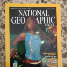 Coleccionismo de National Geographic: NATIONAL GEOGRAPHIC AGOSTO 2002. Lote 191217145