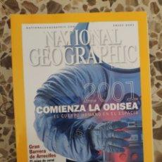 Coleccionismo de National Geographic: NATIONAL GEOGRAPHIC ENERO 2001. Lote 191217235