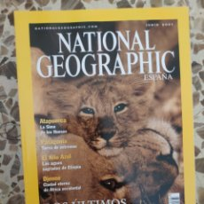 Coleccionismo de National Geographic: NATIONAL GEOGRAPHIC JUNIO 2001. Lote 191217277