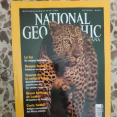 Coleccionismo de National Geographic: NATIONAL GEOGRAPHIC OCTUBRE 2001. Lote 191217475