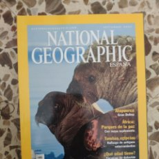 Coleccionismo de National Geographic: NATIONAL GEOGRAPHIC SEPTIEMBRE 2001. Lote 191217742