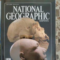 Coleccionismo de National Geographic: NATIONAL GEOGRAPHIC EDICIÓN ESPECIAL DE ÁFRICA A ATAPUERCA. Lote 191218822
