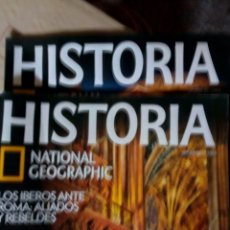Coleccionismo de National Geographic: 2 REVISTAS HISTORIA NATIONAL GEOGRAPHIC. Lote 191227716