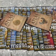 Coleccionismo de National Geographic: REVISTAS HISTORIA NATIONAL GEOGRAPHIC. Lote 191229192