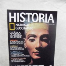 Coleccionismo de National Geographic: REVISTA HISTORIA NATIONAL GEOGRAPHIC Nº 83 NEFERTITI . Lote 191505340