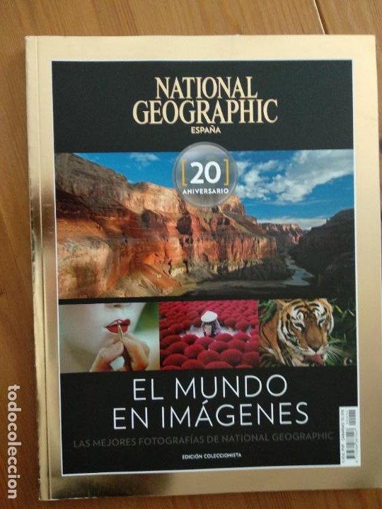 NATIONAL GEOGRAPHIC ESPECIAL EL MUNDO EN IMAGENES 20 ANIVERSARIO: EDICION COLECCIONISTA (Coleccionismo - Revistas y Periódicos Modernos (a partir de 1.940) - Revista National Geographic)