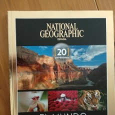 Coleccionismo de National Geographic: NATIONAL GEOGRAPHIC ESPECIAL EL MUNDO EN IMAGENES 20 ANIVERSARIO: EDICION COLECCIONISTA. Lote 191609670