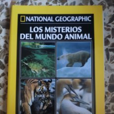 Coleccionismo de National Geographic: NATIONAL GEOGRAPHIC LOS MISTERIOS DEL MUNDO ANIMAL. Lote 191649286
