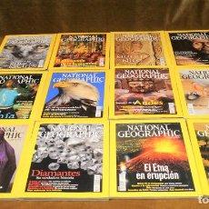 Coleccionismo de National Geographic: REVISTA NATIONAL GEOGRAPHIC,AÑO 2002,COMPLETO. EN ESPAÑOL.. Lote 192818683