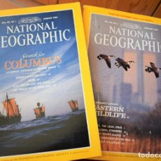 Coleccionismo de National Geographic: NATIONAL GEOGRAPHIC - 43 NUMEROS DE 1989 A 1997. Lote 193084735