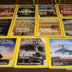 Coleccionismo de National Geographic: REVISTA NATIONAL GEOGRAPHIC,AÑO 2008,FALTA EL MES DE NOVIEMBRE,EN ESPAÑOL.. Lote 193324775