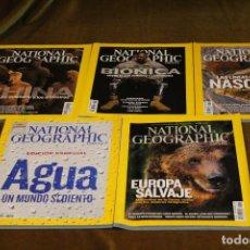Coleccionismo de National Geographic: NATIONAL GEOGRAPHIC,AÑO 2010,INCOMPLETO,NÚMEROS DE ENERO,FEBRERO,MARZO,ABRIL Y MAYO,EN ESPAÑOL. Lote 193359705